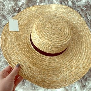 Forever21 straw hat